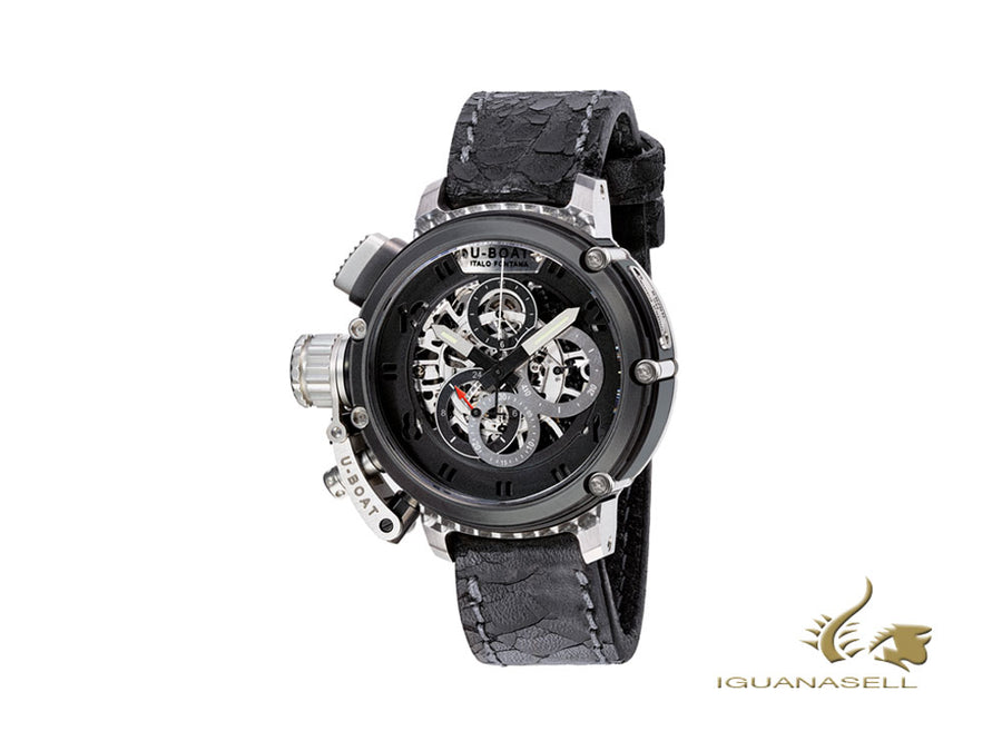 U-Boat Chimera 46 SS Skeleton Automatic Watch, 46mm, Limited Edition, 8028
