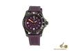 Victorinox Dive Master Ladies Quartz Watch, Violet, 38mm, 50 atm, V241558
