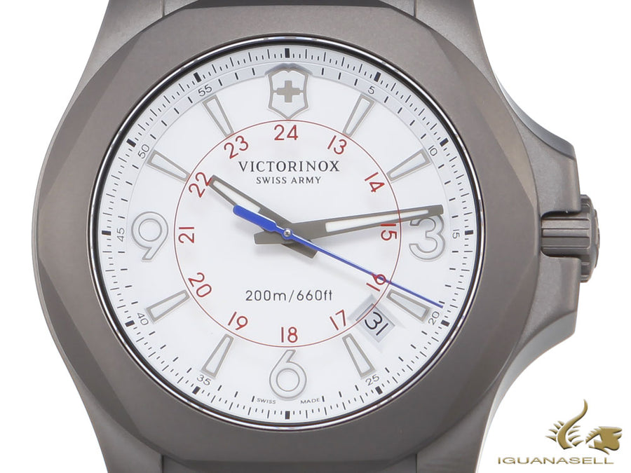 Victorinox I.N.O.X. Quartz Watch, Titanium, 43 mm, Limited Edition, V241772.1