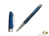 Visconti Van Gogh Starry Night Fountain Pen, Resin, Chrome, 78318A10P