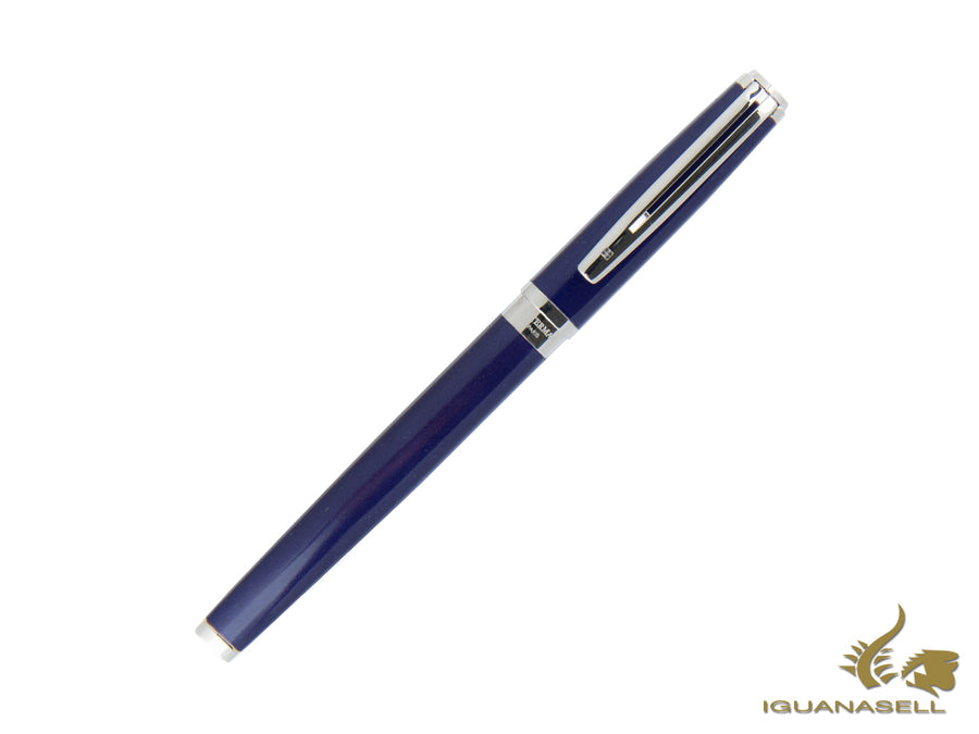 Waterman Fountain Pen Exception Slim Blue -Silver Trims- S0637100