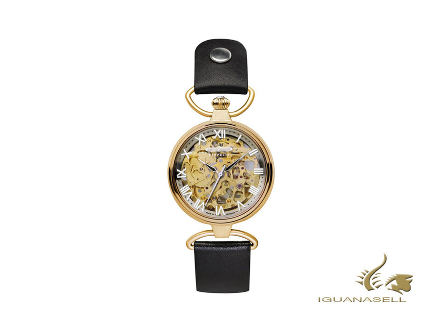 Zeppelin Princess Of The Sky Automatic Watch, PVD Gold, Grey, 34mm, 7459-5