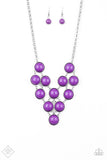 Pop-YOU-lar Demand Purple - Paparazzi Accessories