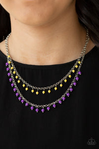 Dainty Distraction Purple - Paparazzi Accessories