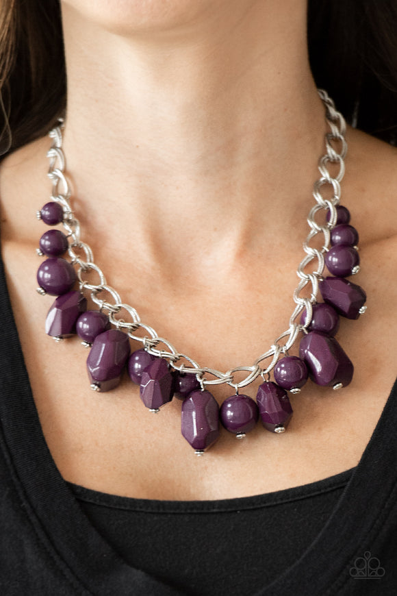 Gorgeously Globetrotter Purple - Paparazzi Accessories