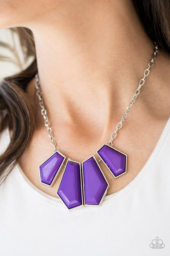 Get Up and GEO Purple - Paparazzi Accessories