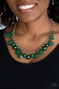 Pacific Posh Green - Paparazzi Accessories
