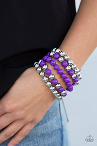 Pop-YOU-lar Culture Purple - Paparazzi Accessories