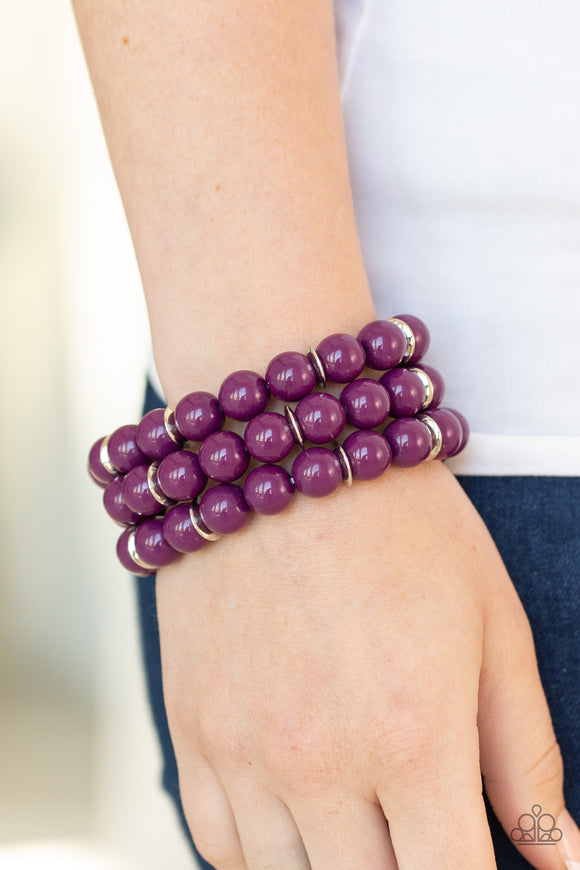 Chroma Collision Purple - Paparazzi Accessories
