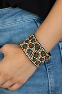 Cheetah Couture Brown - Paparazzi Accessories