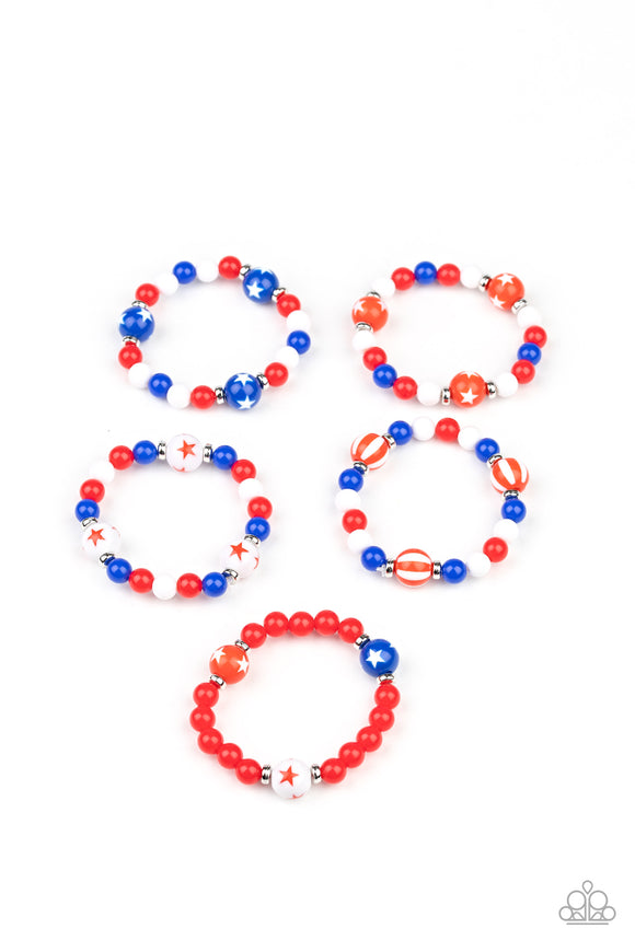 4th of July Starlet Shimmer Bracelet