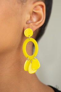 Sparkling Shores Yellow - Paparazzi Accessories