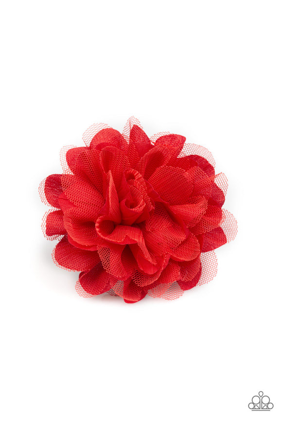 Awesome Blossom Red - Paparazzi Accessories