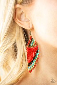 Bodaciously Bohemian Red - Paparazzi Accessories