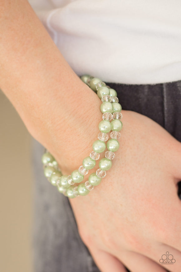 Modestly Modest Green - Paparazzi Accessories