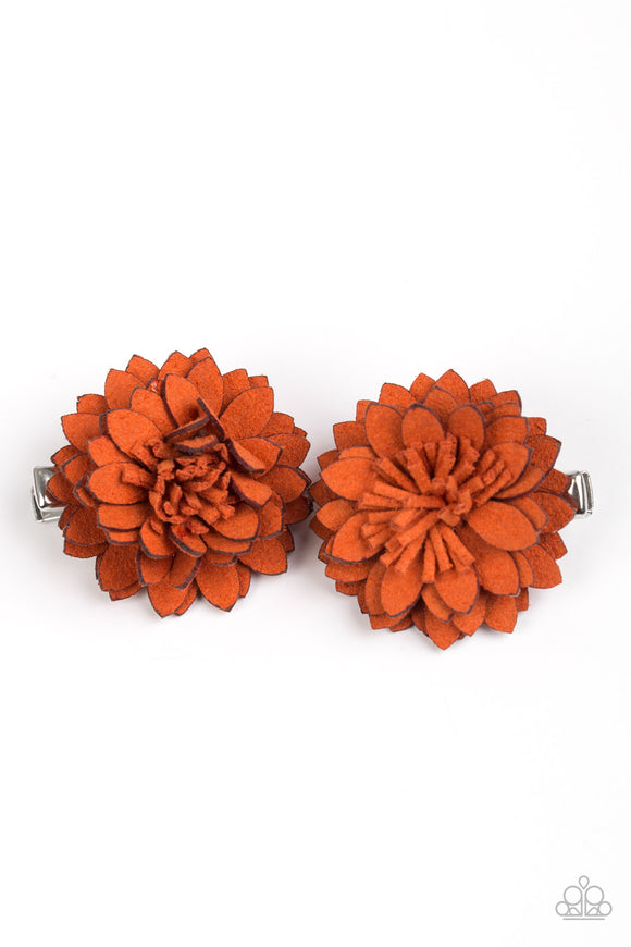 Posh And Posy Orange - Paparazzi Accessories
