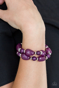 Show Us HUEs Boss Purple - Paparazzi Accessories