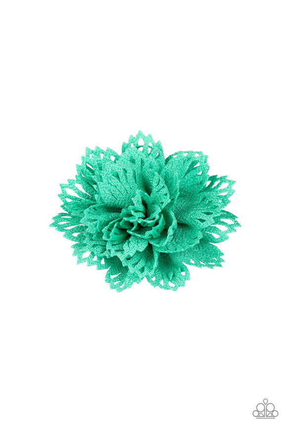 Floral Flair Green - Paparazzi Accessories