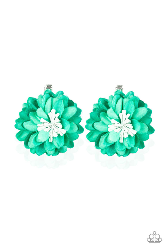 Tasteful In Tulips Green - Paparazzi Accessories