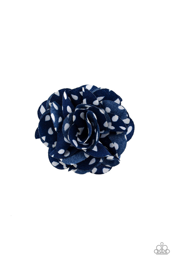 Tiny Tea Roses Blue - Paparazzi Accessories