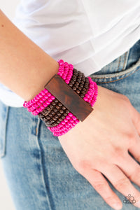JAMAICAN Me Jam Pink - Paparazzi Accessories