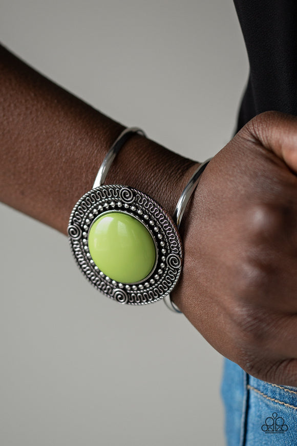 Tribal Pop Green - Paparazzi Accessories