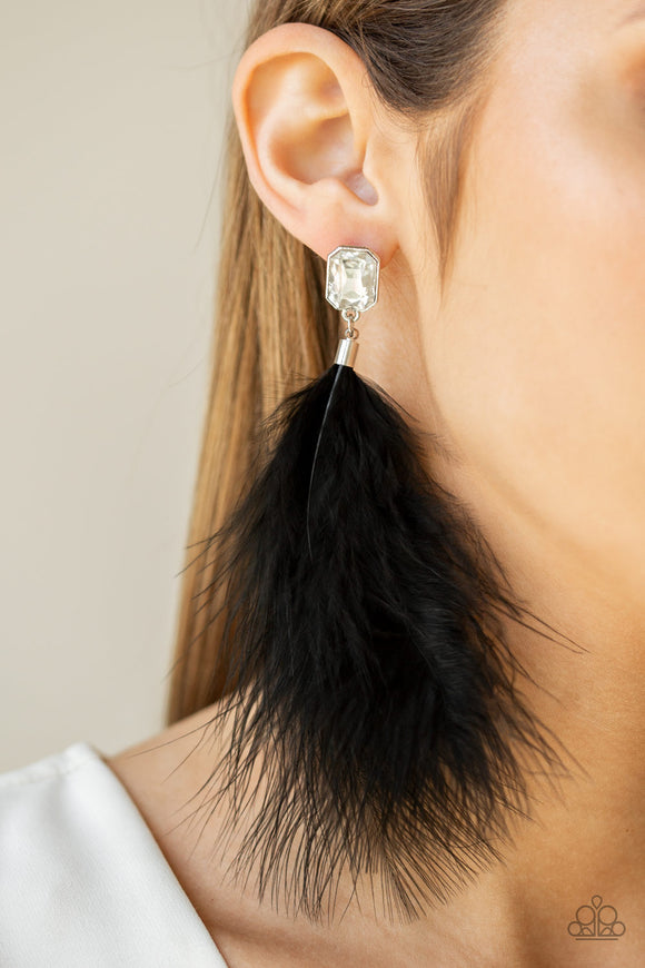 The SHOWGIRL Must Go On! Black - Paparazzi Accessories