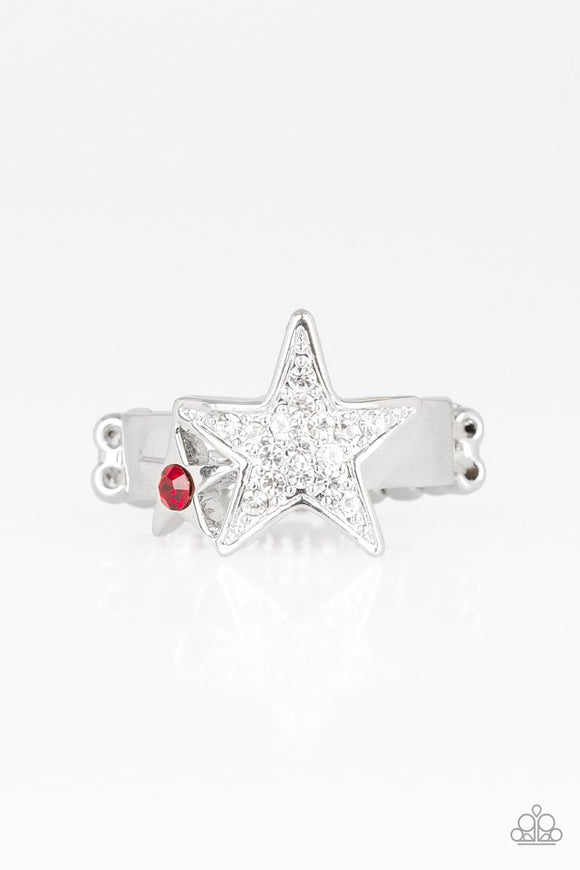 Star Spangled Starlet Red - Paparazzi Accessories