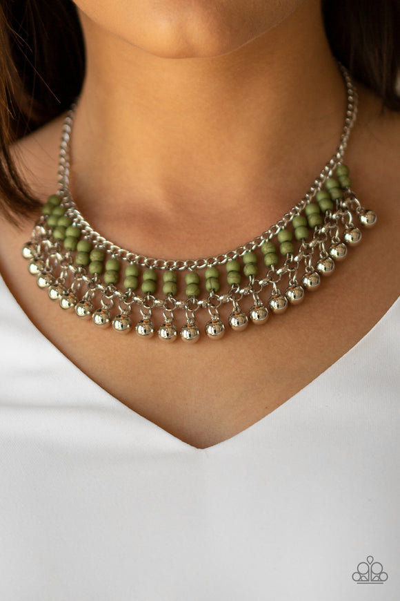 Beaded Bliss Green - Paparazzi Accessories