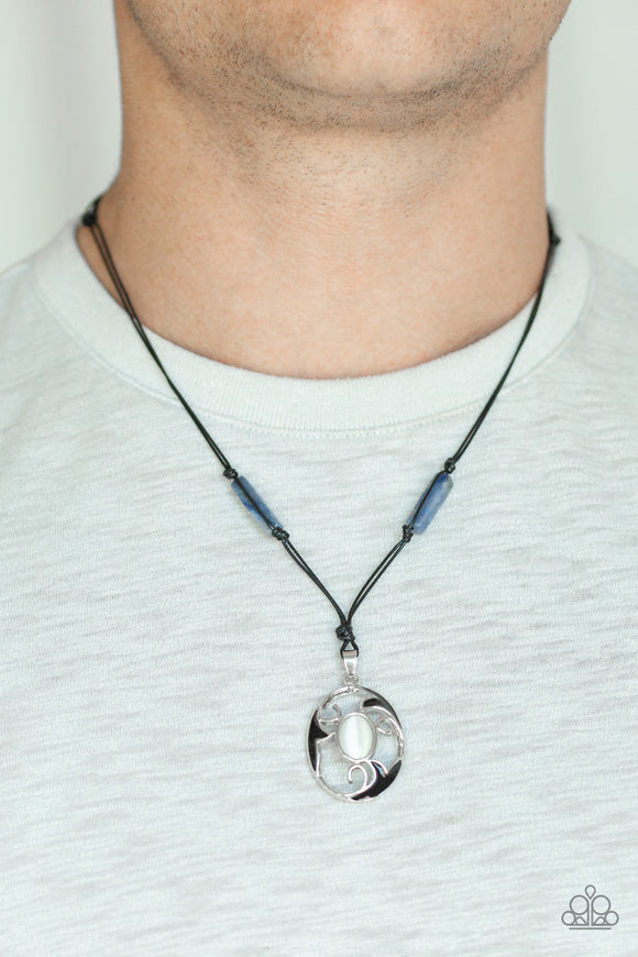 Tidal Talisman Blue - Paparazzi Accessories