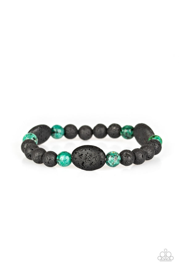 A Hundred and Zen Percent Green - Paparazzi Accessories