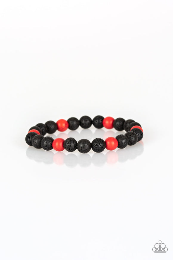 All Zen Red - Paparazzi Accessories