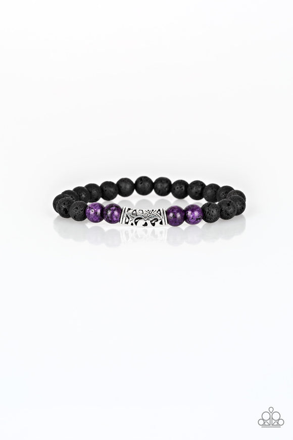 Modern Meditation Purple - Paparazzi Accessories