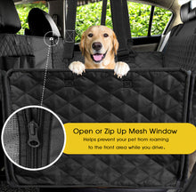 Load image into Gallery viewer, Woof Rider Back Car Seat Cover For Dogs