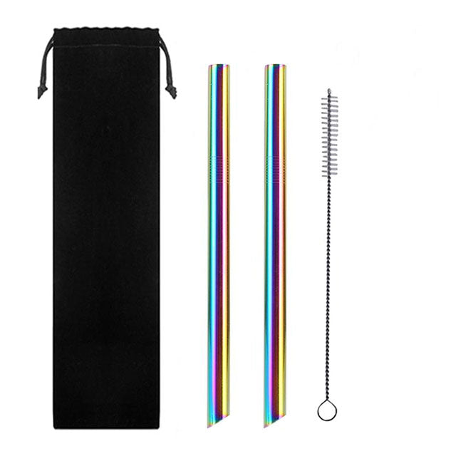 BOBA LOVER STAINLESS STEEL STRAW PACK