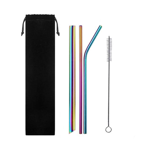 ON POINT STAINLESS STEEL STRAW PACK