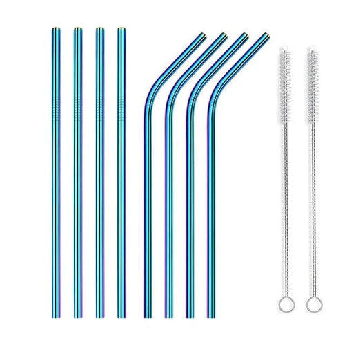 METAL TRIBE STAINLESS STEEL STRAW PACK
