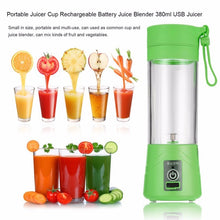 Load image into Gallery viewer, Powerful Portable USB Juicer & Blender