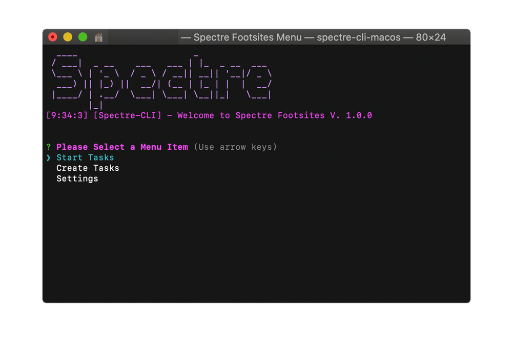 Spectre Footsites (LIFETIME KEY)