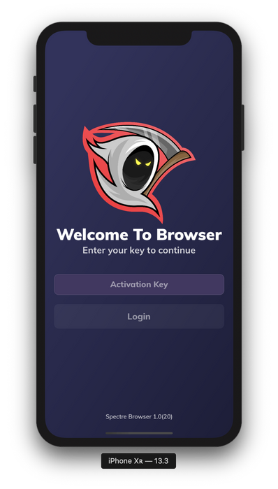 Spectre-Mobile-Browser