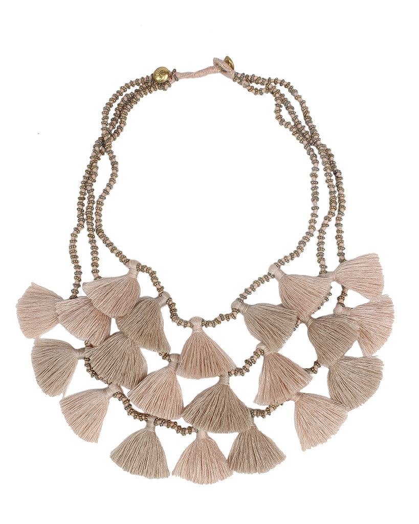 Gia Necklace - Sand