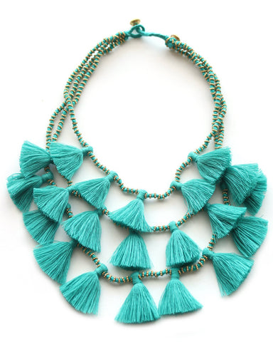 Farah Necklace - Sand