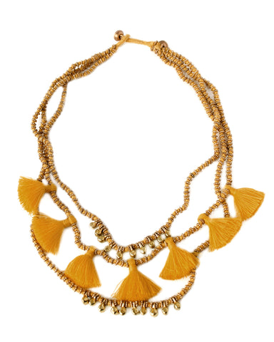 Gia Necklace / Fall Colors