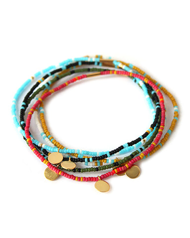 Cali Bracelet  (set of 6)