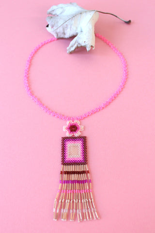 Gia Necklace / Spring Colors