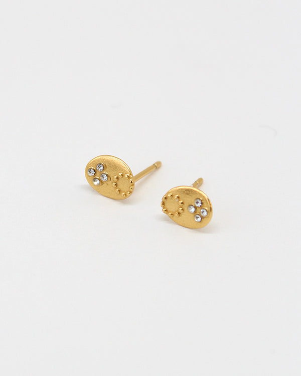 Fiore Studs With CZ