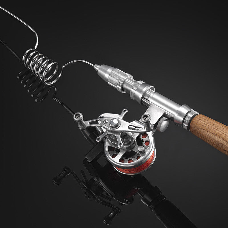 Compact fishing systems compact fishing rod portable for Compact fishing pole