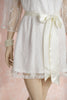 Limited Edition. Trellis Petit. Short bridal lace robe. Medium/Small.