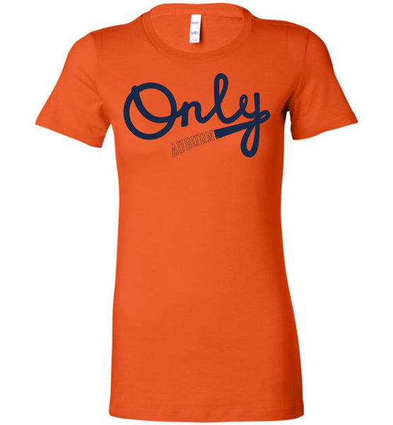 NCAA Auburn University Tigers AU -  Ladies Favorite Tee - 3U-AU
