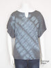 Split Neck Dolman Tee